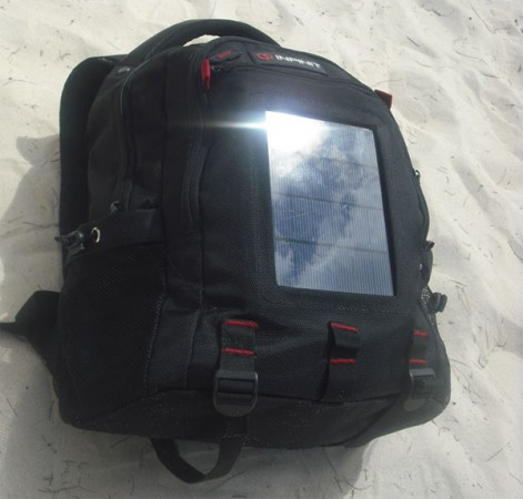 Рюкзак с солнечными батареями Infinit Solar Charger Bag
