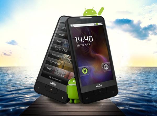 Viliv P3 Touch Prime – Android-медиаплеер