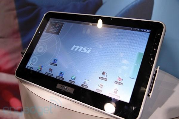 MSI 3G Slatebook – очередной конкурент для iPad