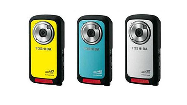 Водонепроницаемая видеокамера Toshiba Camileo BW10