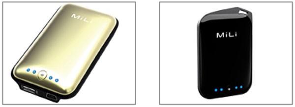 Портативные зарядные устройства MiLi Power Miracle и Power Crystal