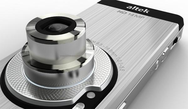 14-мегапиксельный камерафон Altek Leo 3.5G