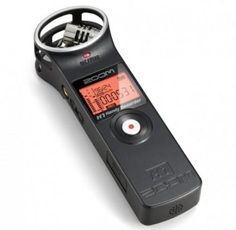Zoom выпустила миниатюрный стереорекордер H1