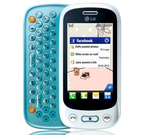 Новый мобильный телефон LG Town GT350