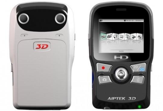 Бюджетная HD-видеокамера формата 3D от Aiptek