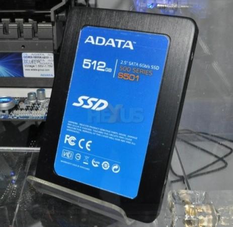 Computex: A-Data показала SSD с SATA 6.0 Гбит/с