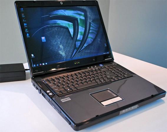 Превью ноутбука с GeForce GTX 480M