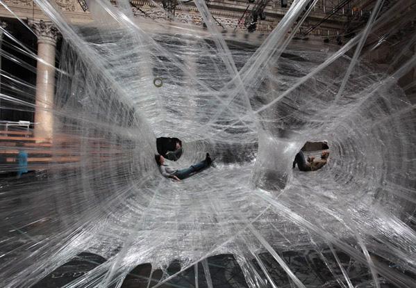 Паучье гнездо - сумасшедший проект от дизайнеров из Вены и Хорватии