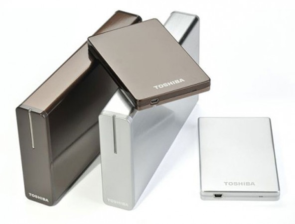 Внешние накопители Toshiba STOR.E