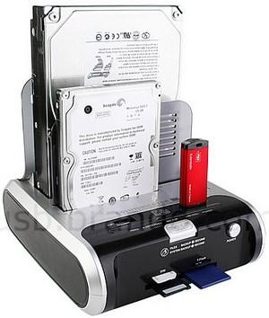 Док-станция для винчестеров Communicator D2 Dual SATA HDD Dock