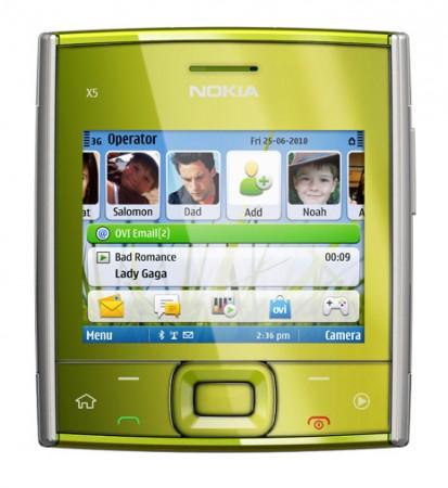 X5 и X6 – новые мультимедийные смартфоны от Nokia