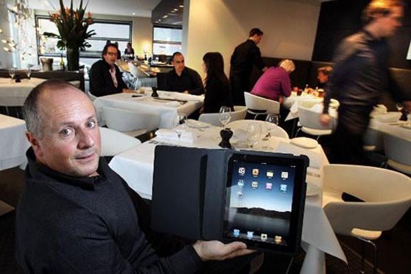 iPad-меню