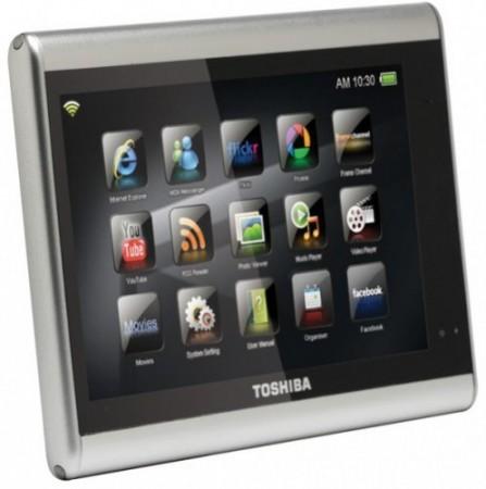 Toshiba GuideBook – двухэкранная «таблетка»