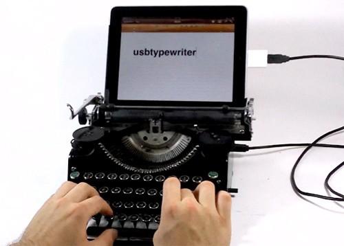 USB-печатная машинка для iPad