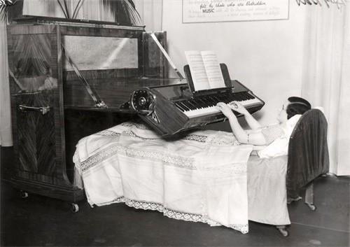 Сэр, пианино в постель?