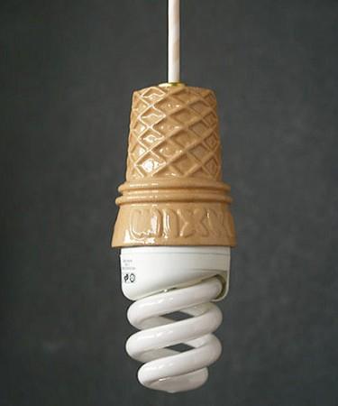 Лампочка-мороженное