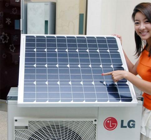 Кондиционер на солнечной батарее