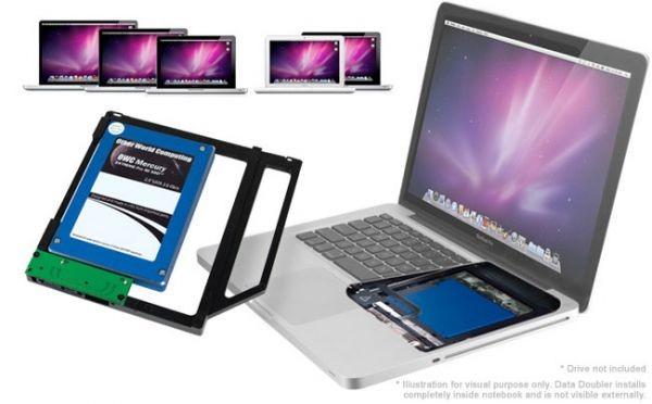 OWC Data Doubler – дополнительный накопитель для MacBook'ов