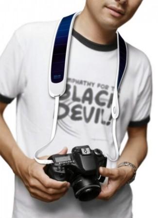 «Солнечный» ремень для фотокамер