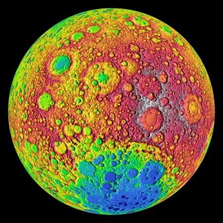 Наиболее детальный снимок темной стороны луны