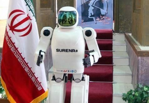 Иран представил ходячего робота-гуманоида
