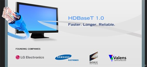 Пару слов о новой кабельной технологии HDBaseT