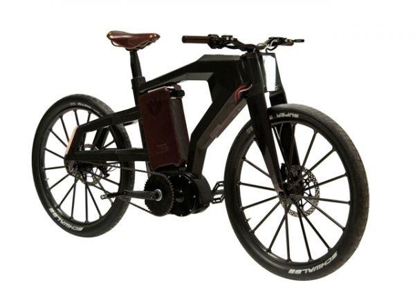 BT-01 Black Trail – дорогой электромотоцикл
