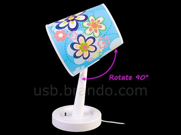 USB-лампа с вентилятором