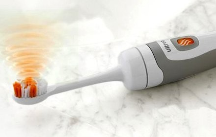 Зубная щетка с ультрозвуком