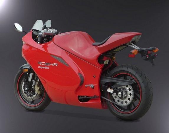 Самый быстрый электромотоцикл от Roehr