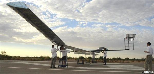Солнечный беспилотник Zephyr уже 9,5 суток в небе