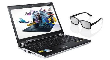 Первый 3D-ноутбук от LG