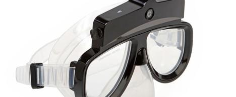 Подводные очки со встроенной камерой