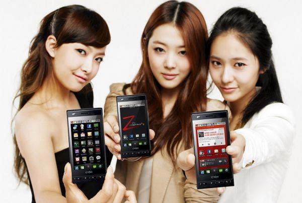 LG запускает смартфоны Optimus Z SU950/KU9500, пока в Корее