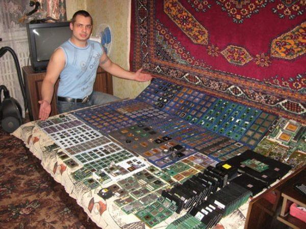 Большая коллекция процессоров