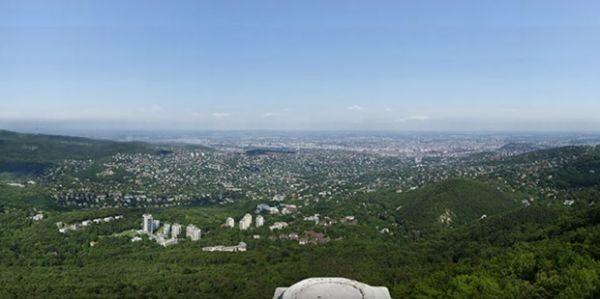 70-гигапиксельная панорама Будапешта