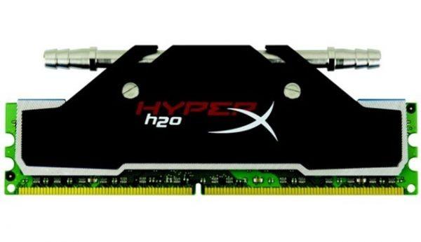Оперативная память с водяным охлаждением Kingston HyperX H2O