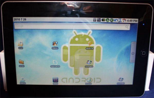 10-дюймовый Android-планшет FlatPad A10
