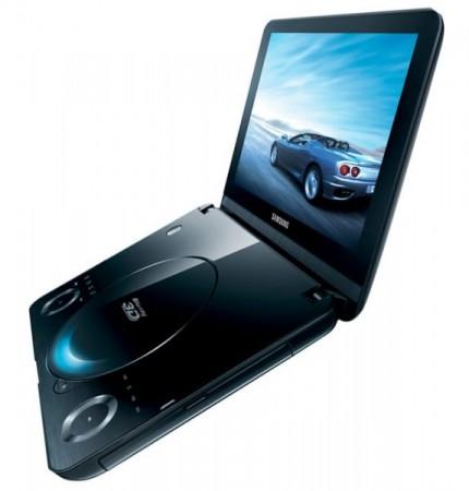 Первый в мире портативный 3D-плеер Blu-ray от Samsung