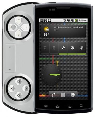 Sony Ericsson готовит игрофон на Android 3.0
