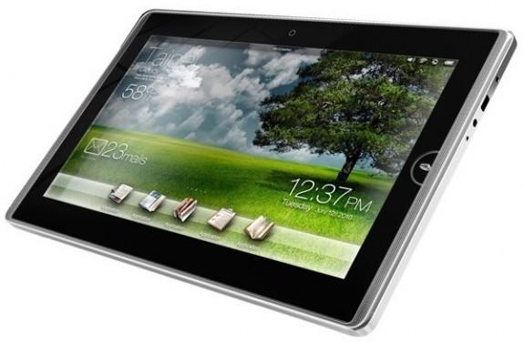 Обнародованы цены на планшеты Asus Eee Pad