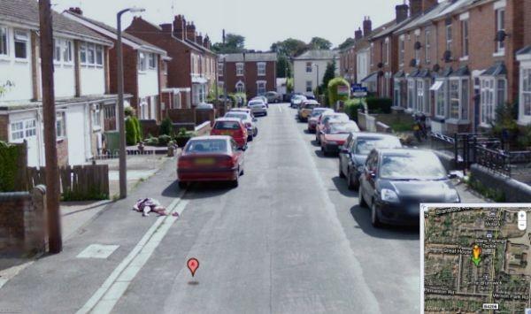 Мертвая девочка в Street View
