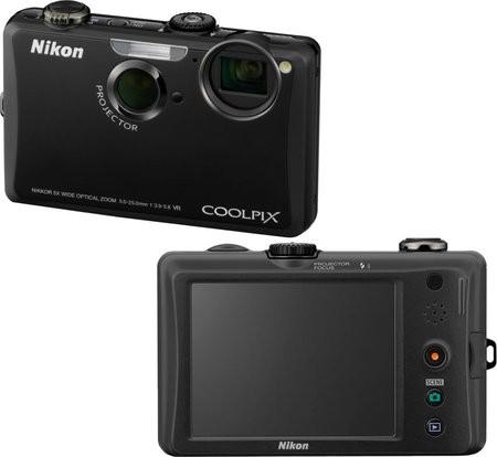 Фотокамера с проектором Nikon Coolpix S1100pj