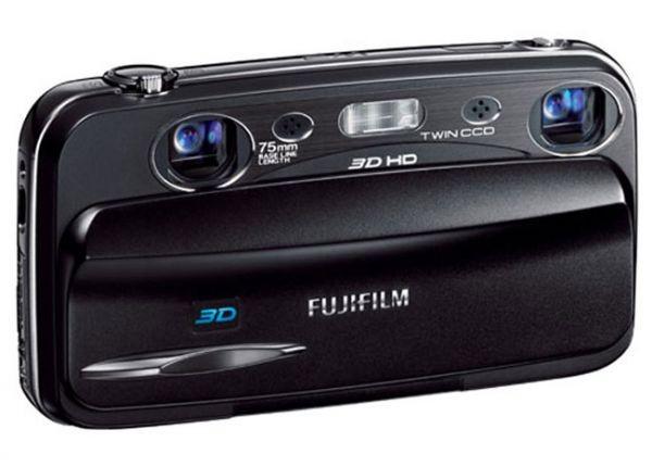 FinePix W3 3D – новая 3D-мыльница от Fujifilm