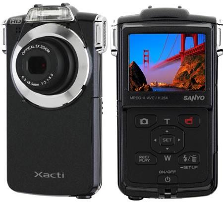 Карманная HD-камера Sanyo VPC-PD2BK