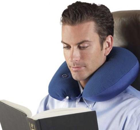 Подушка с подсветкой для путешествий
