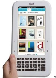 Электронная читалка с цветным экраном Literati