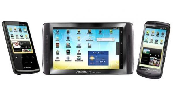 Archos запускает 5 новых Android-планшетов