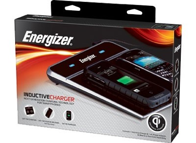 Energizer представляет беспроводную зарядку