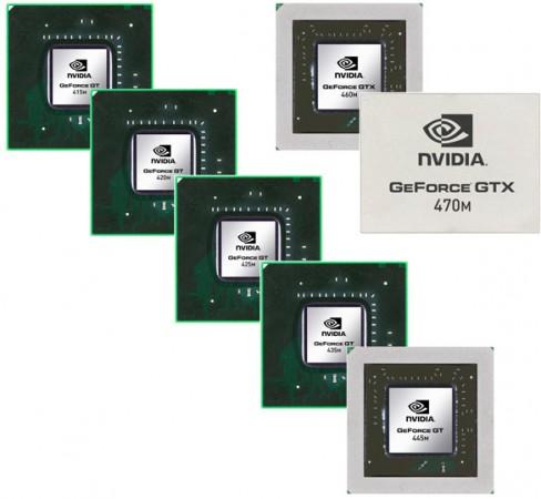 NVIDIA представила новую линейку мобильных чипов Fermi